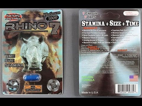 Rhino 7 3000 Pill Review