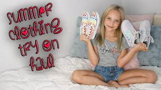 Summer Clothing Try-On Haul with Lilly K