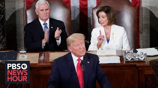 After impeachment acquittal, Trump's bitter feud with Pelosi continues