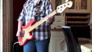 Simple Minds - Someone Somewhere In Summertime Bass Cover