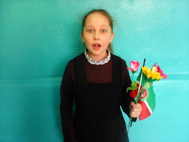 Изображение предпросмотра прочтения – КамиляСибгатова читает произведение «Майская песенка» В.В.Маяковского