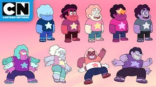 Download Lagu All of the Steven Fusions | Steven Universe Future | Cartoon Network mp3
