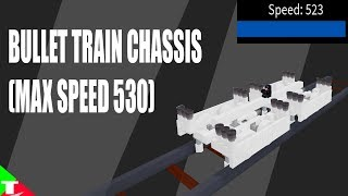 ROBLOX- Plane Crazy [Alpha] [Tutorial] Bullet Train (530 Max Speed)