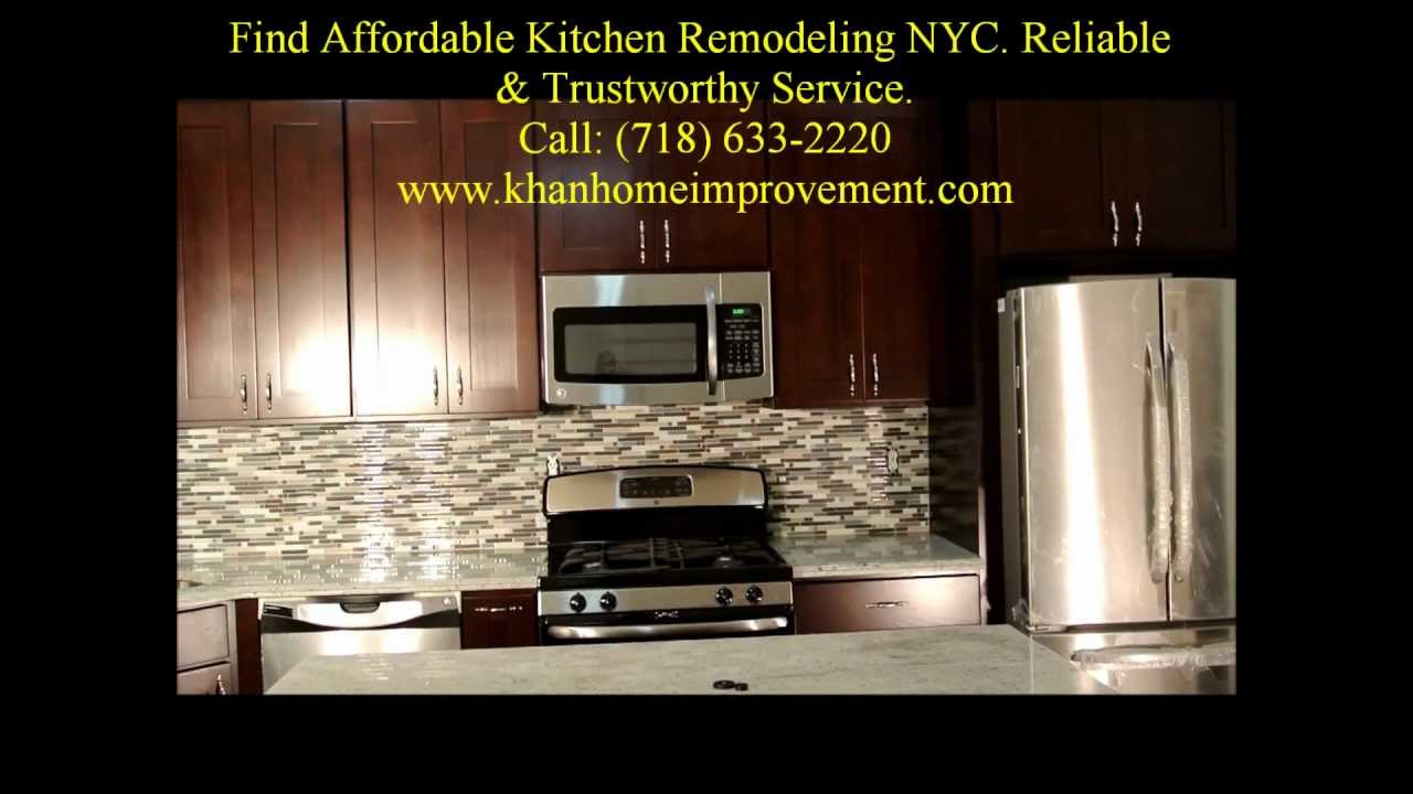 Kitchen Remodeling NYC, Small Kitchen Renovation NYC (Manhattan)