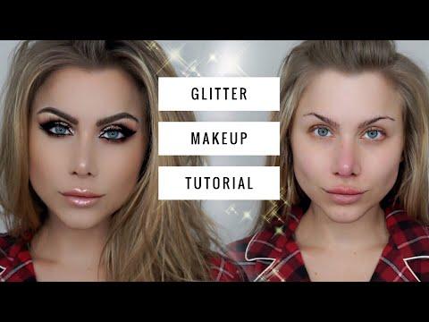Wearable Glitter Makeup Tutorial