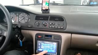 Backup Camera, Bluetooth, Music and Navigation in 94 Honda Accord - Video 8,  Pairing