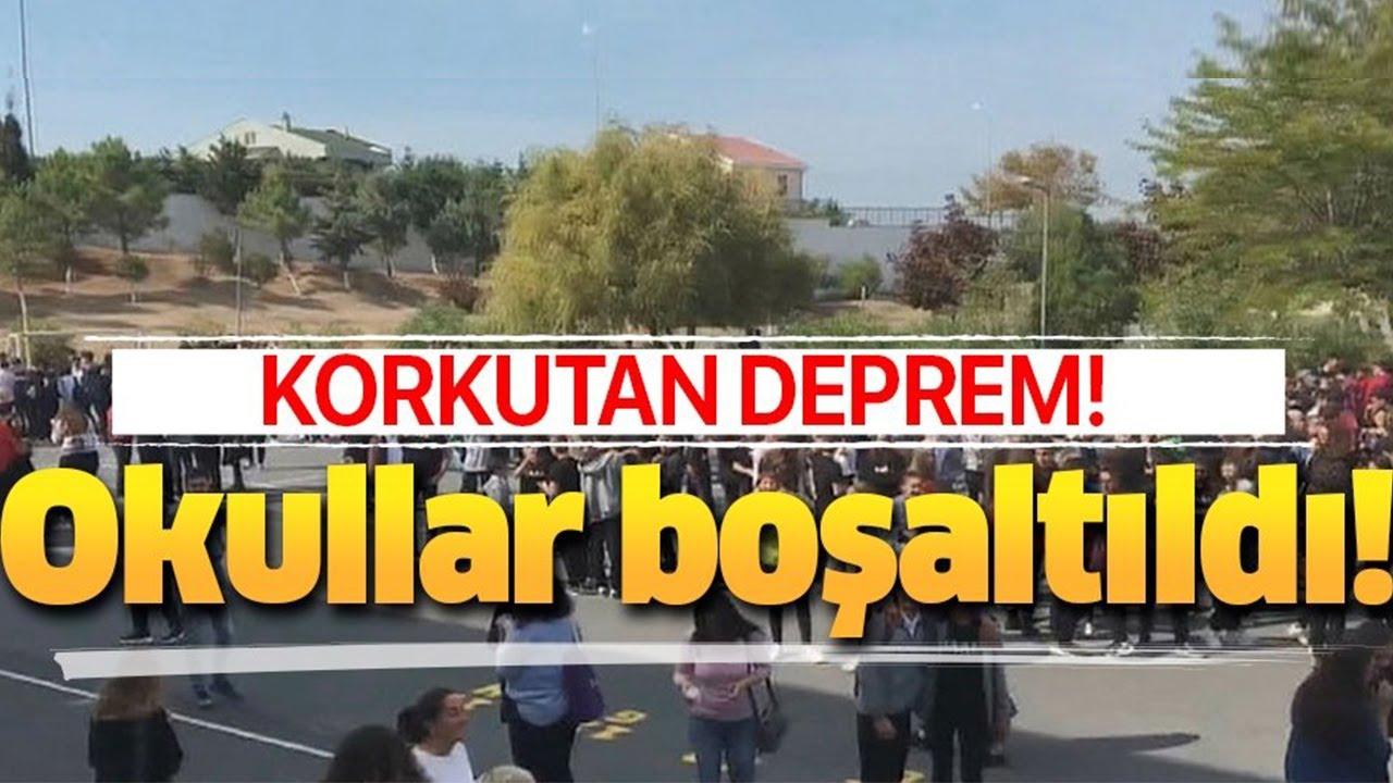 İstanbul Silivri'de deprem meydana geldi
