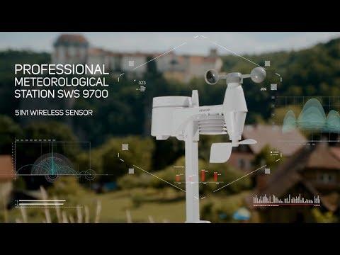 Professional Weather Station Sencor SWS 9700
