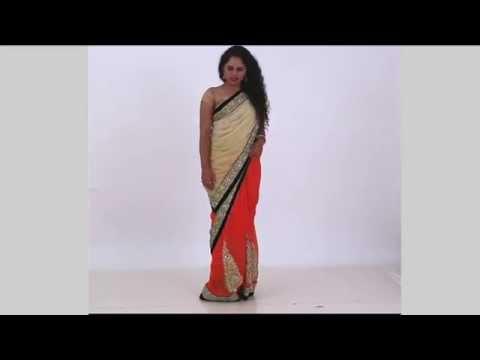 How To Drape A Saree | Double Pallu Style | Quick Saree Draping Tutorial