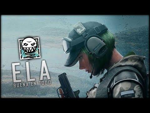 RAINBOW SIX SIEGE - GUÍA DE ELA: La mejor, en todo | Trucos y consejos (DLC Blood Orchid)