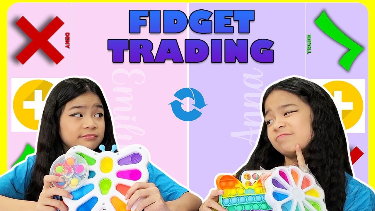 Download FIDGET TRADING | Pop It - Simple Dimple | Tran Twins
