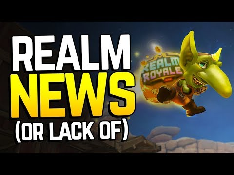 Realm Royale's Disappointing Announcements?