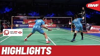DANISA Denmark Open 2019 | Semifinals MD Highlights | BWF 2019