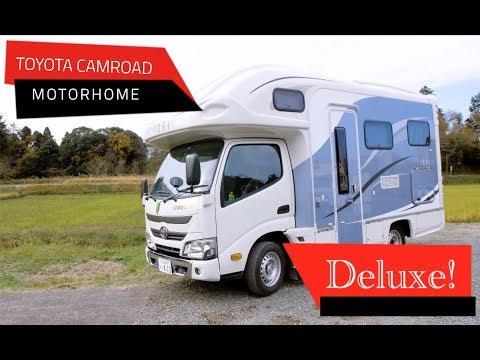 Toyota Camroad Deluxe Motorhome   Japan Campers campervan rental