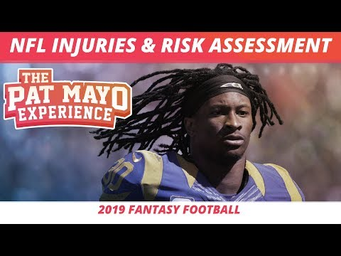 2019 Fantasy Football Rankings — NFL Injuries And Risk Assessment