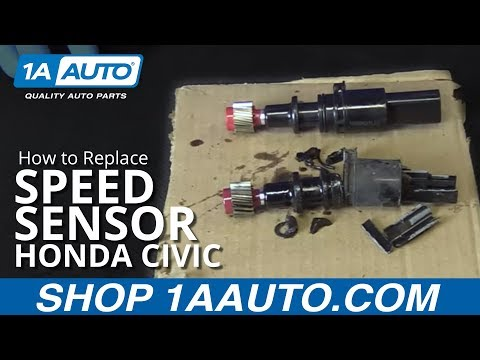 How to Replace Speed Sensor 01-05 Honda Civic