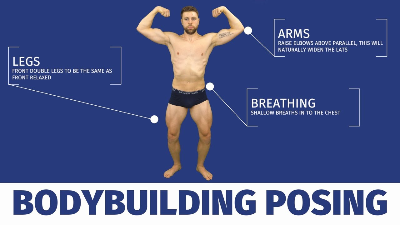 Bodybuilding posing | learn how to pose like a bodybuilder with.