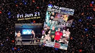 Oshkosh Pro Wrestling: Takeover 2013!  Fri Jun 21 at the Timbuktu Lounge!