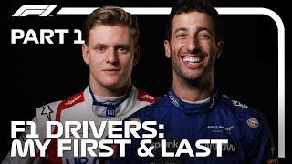 2021 F1 Drivers - My First & Last | Part 1