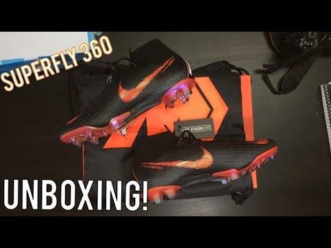 fdb6dda445b8 Nike Mercurial Superfly 6 Elite Black Orange - Unboxing - YouTube