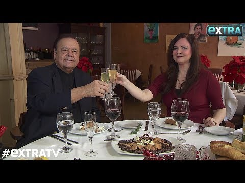Cooking with 'Goodfellas' Star Paul Sorvino as He Prepares His Special Christmas Dinner