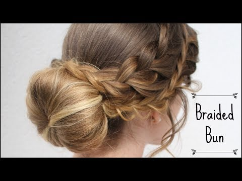 Romantic Braided Bun Updo | Bridal  Hairstyles | Braidsandstyles12