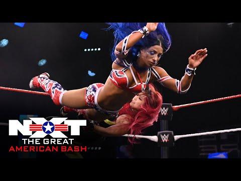 NXT Women's Champion Shirai vs. Banks – Non-Title Match: NXT Great American Bash, July 1, 2020