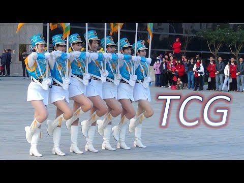 Taichung Girls' Senior High School 台中女中樂儀隊/台中市府元旦升旗典禮(Jan. 01, 2018)【PHA中學生學後園】