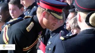 HRH Prince Harry visits the School