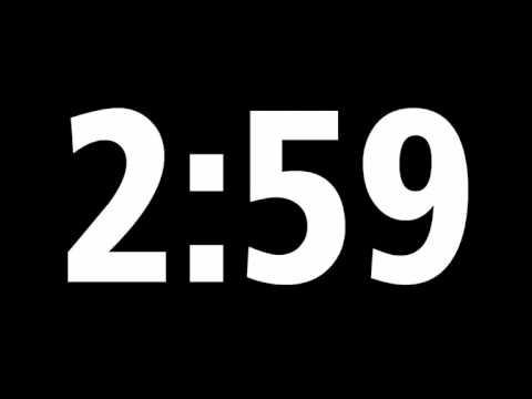 5 Minute Digital Countdown Timer + Download Source File for Offline