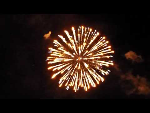 CANADA DAY FIREWORKS 2016 AT HARRIS PARK LONDON, ONTARIO