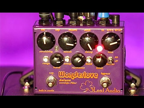 Review Demo - 3Leaf Audio Wonderlove Deluxe Envelope Filter
