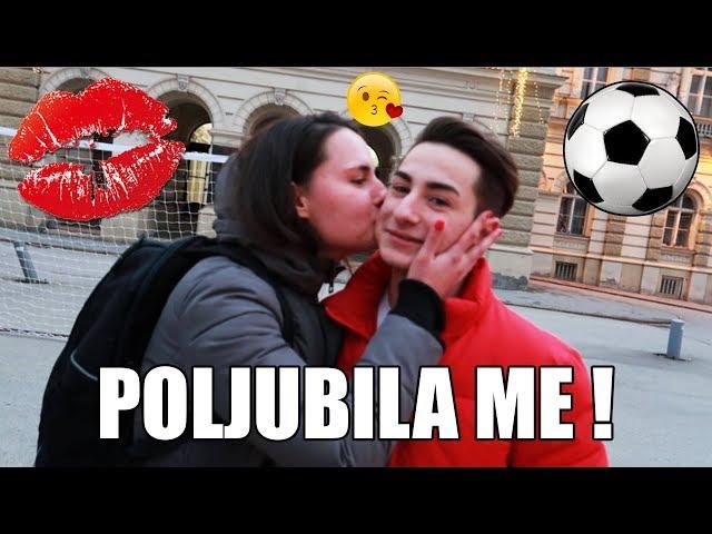 POLJUBILA ME JE U SRED KLIPA !! PENALTY CHALLENGE