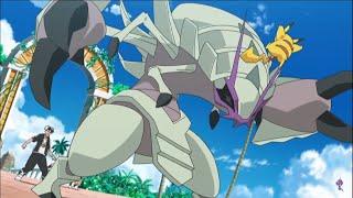 Guzma vs Ash Pokemon Sun and Moon Episode 115 English Dub