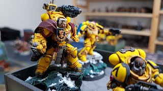Imperial Fists v Custodes, Warhammer 40k battle report