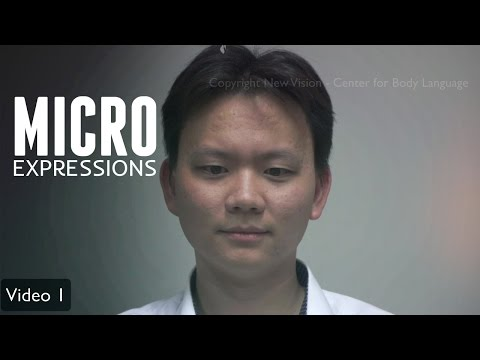 Micro Expressions In 4K - Body Language For Lie Detection Analysis