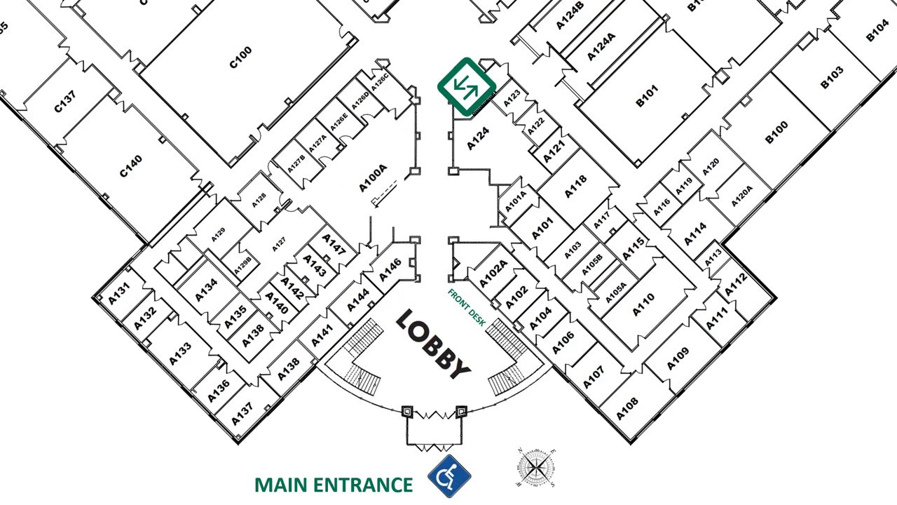 Valparaiso Campus Map.Ivy Tech Campus Map D203 Youtube