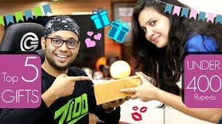 Top 5 Gifts For Your Boyfriend Under 400 Rs. [hindi]