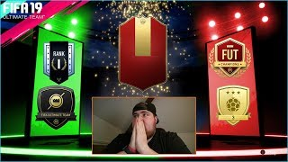 FIFA 19 FUT CHAMPS 2 X RED PLAYER PICKS & RANK 1 RIVALS REWARDS PACK OPENING