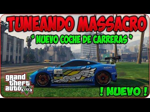 """GTA V Online TUNEANDO DEWBAUCHEE MASSACRO """" NUEVO COCHE De CARRERAS """" DLC NAVIDAD GTA 5 Online"""