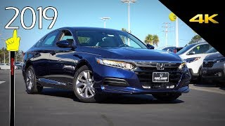 2019 Honda Accord LX - Detailed Look in 4K