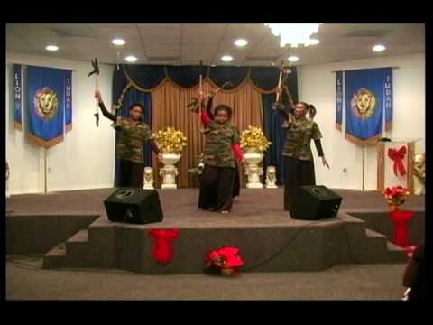 Holy Visitation performed by Tabernacle of Deliverance Outreach Ministries Praise Dancers