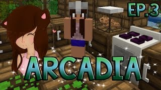 Minecraft Arcadia | Cooking Oven | Episode 3