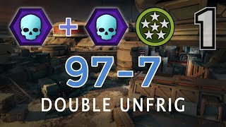 Halo 5 - Double Unfriggenbelievable on Darkstar with 97 Kills