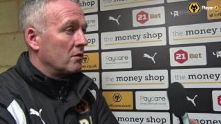 Paul Lambert On The Home Draw With Blackburn Rovers