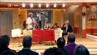 Pelzig hält sich ZDF Satire - Kabarett - Talk Show Gäste Claudia Roth - Harald Lesch part 1