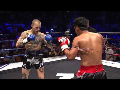 (USA VS THAILAND) Max Muay Thai Ultimate 2016 Match 4 WILLIAM   VS  KLAKUNSUEK