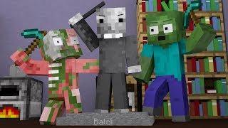 Monster School : Sculpting Challenge - Minecraft Animation