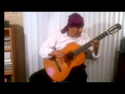 Guitar Demonstration Using Q3HD | ZOOM | Music Performed By Victor M. Pryor