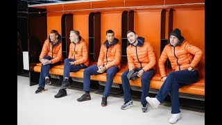 Футболисты «Урала» побывали на «Екатеринбург Арене»
